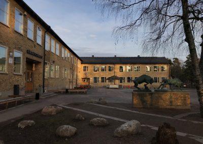 Hökarängsskolan Hus F, idrotshall